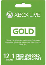 Xbox 360 Live 12+1 mois xbox one subscription or adhésion code Key