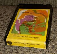 THE BEATLES 8 Track tape cart. MVC Distributing Greatest Hits VOLUME 5 bootleg?