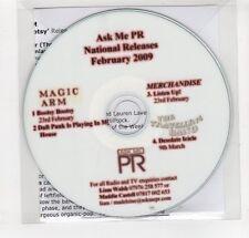 (GN999) Magic Arm / Merchandise / The Travelling Band, sampler - 2009 DJ CD