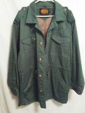 Woolrich mens parka safari jacket coat vintage L 100% cotton lined EXC EUC