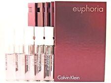 CALVIN KLEIN EUPHORIA EDP 1.2ml .04fl oz x 5 PERFUME SPRAY SAMPLE VIALS