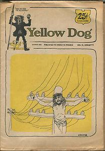 """Yellow Dog"" #4 - Underground/R. Crumb, Shelton - 1969 - (Grade VG+/F)WH"
