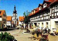 Gersfeld / Rhön, Marktplatz,Ansichtskarte, gelaufen