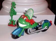 RARE 1993 Playmates TMNT Teenage Mutant Ninja Turtles Motorcycle Set - NMNT
