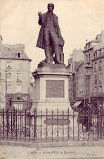 CPA 14 CAEN Place St Sauveur Statue d'Elie de BEAUMONT fondue par les nazis 1942