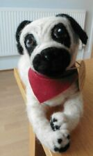HAND MADE     NEEDLE FELTED PUG