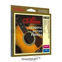 Alice Steel Acoustic Guitar Strings - 12-53
