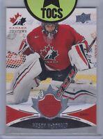 Mason McDonald 2016-17 Team Canada Juniors Jersey Card