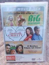 THE BIG LEBOWSKI/INTOLERABLE CRUELTY/O BROTHER WHERE  (3 DISC BOXSET) MA R4