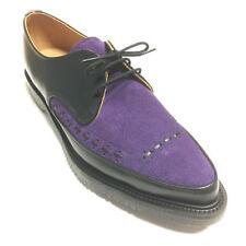 Scarpe da uomo in camoscio viola