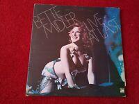 """BETTE MIDLER - LIVE AT LAST - 12"""" Vinyl LP  Double Album 1977"""