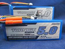 New 2 Turnigy 5000mAh 3S 11.1v 20C 30C Lipo HXT DJI Naza Losi HPI Bannana bullet