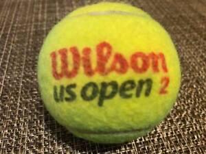 2020 Official US Open Tennis Ball  Djokovic Williams Thiem Osaka Zverev Azarenka