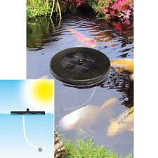 Solar-powered Floating Pond Oxygenator (For Fish, Plants) Pump, No Wires