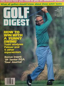 Golf Digest March 1984 Vtg Magazine - Toski Analyzes Arnold Palmer - No Label NM