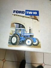ford tractor  tw10 sales brochure