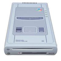 Premium Skin Sticker For Nintendo Wii U Console Wrap POP SKIN Super Famicom