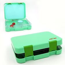 Leak Proof Bento Lunch Box w/ Removable 5 Storage Compartments BPA & BPS Free