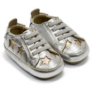 Baby Shoes Old Soles Starey Bambini Crib Slip On Sneaker New