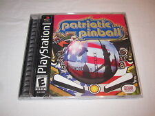 Patriotic Pinball (PlayStation PS1) Black Label Game Complete Excellent!