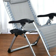 Portable Gravity Folding Lounge/Beach Chair Camping Recliner Tray (Only Tray)