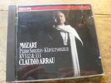 Mozart-pianoforte SONATE 332 333 [CD ALBUM] w-germany PDO Arrau SILVER