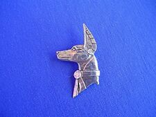 Anubis Pharaoh Hound pin #14F Dog Egyptian Pewter dog Jewelry by Cindy A Conter