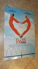 I LOVE YOU PHILLIP MORRIS movie poster JIM CARREY poster, EWAN MCGREGOR poster
