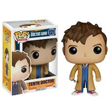 "Doctor Who Tenth Doctor 3.75"" Figura de Vinilo Pop Funko 11th David Tennant 10º"
