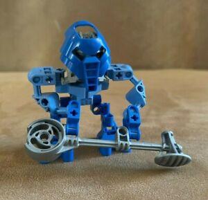 8586 Lego Complete Matoran Macku Bionicle action figure blue