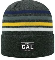 Cal Berkeley Bears Beanie Winter Knit Hat Cap Toque California Golden Bears NWT
