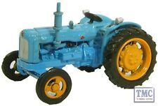 76TRAC001 Oxford Diecast Fordson Tractor Blue 1/76 Scale OO Gauge
