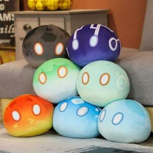 Game Genshin Impact Slime Theme Cute Plush Dolls Keli Dango Throw Handful Toys C