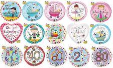 Ballons de fête ronds anniversaire-adulte pour la maison