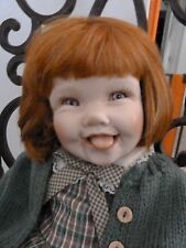 Cindy Marschner Rolfe..Open Mouth...Porcelain...Irish..Red Head Doll...ADORABLE
