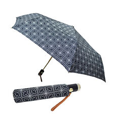 NEW Tory Burch Lux 3T Tory Navy Umbrella