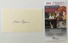 Elena Kagan Signed Autographed 3x5 Card JSA Certified Supreme Court