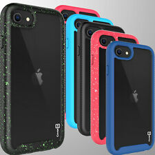 For Apple iPhone SE 2020 / 8 / 7 Case Full Body Slim Military Clear Phone Cover