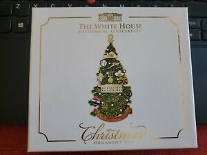 The White House Historical Association 2015 Christmas Ornament NEW