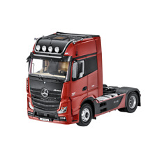 MERCEDES BENZ TRUCK ACTROS FH25 GigaSpace Articulated Lorry Red 1:18 NIP NZG