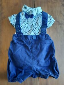 Boys Christening/wedding Outfit 0-3 Months