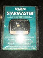Starmaster (Atari 2600, 1982) *BUY 2 GET 1 FREE +FREE SHIPPING*