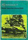 MG MIDGET 1500 ROADSTER (1975-79) ORIGINAL FACTORY WORKSHOP MANUAL