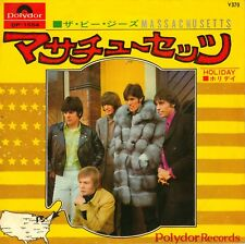 "7"" Bee Gees – Massachusetts / Holiday // Japan 1968"