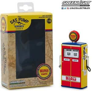 Vintage Fuel Pump Gas Pumps Mopar Parts Diorama 1:18 Greenlight No Figurine