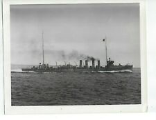 USS WW1 WADSORTH DD-60 OFFICIAL NAVY PHOTO