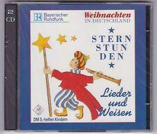 WEIHNACHTEN IN DEUTSCHLAND - STERNSTUNDEN- LIEDER UND WEISEN 2 CD NEU! & OVP!