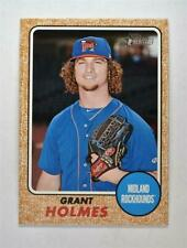 2017 Topps Heritage Minors Base #182 Grant Holmes - Midland RockHounds