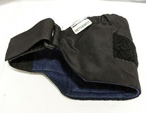"""Vet's Best Perfect-Fit Washable Male Dog Wrap, Small/Medium, Waist 15""""-23"""""""