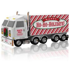 2014 Hallmark Christmas Convoy Sound Ornament NIB Free Shipping Semi-Truck